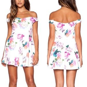 Minkpink // Revolve Neon Nature Dress XS